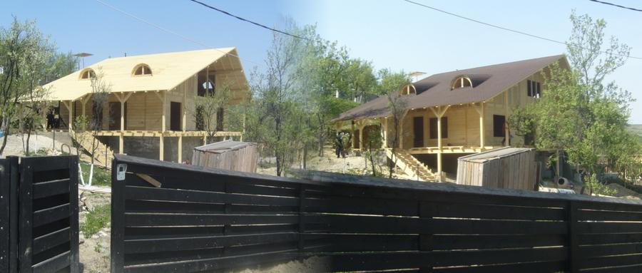 constructii case lemn