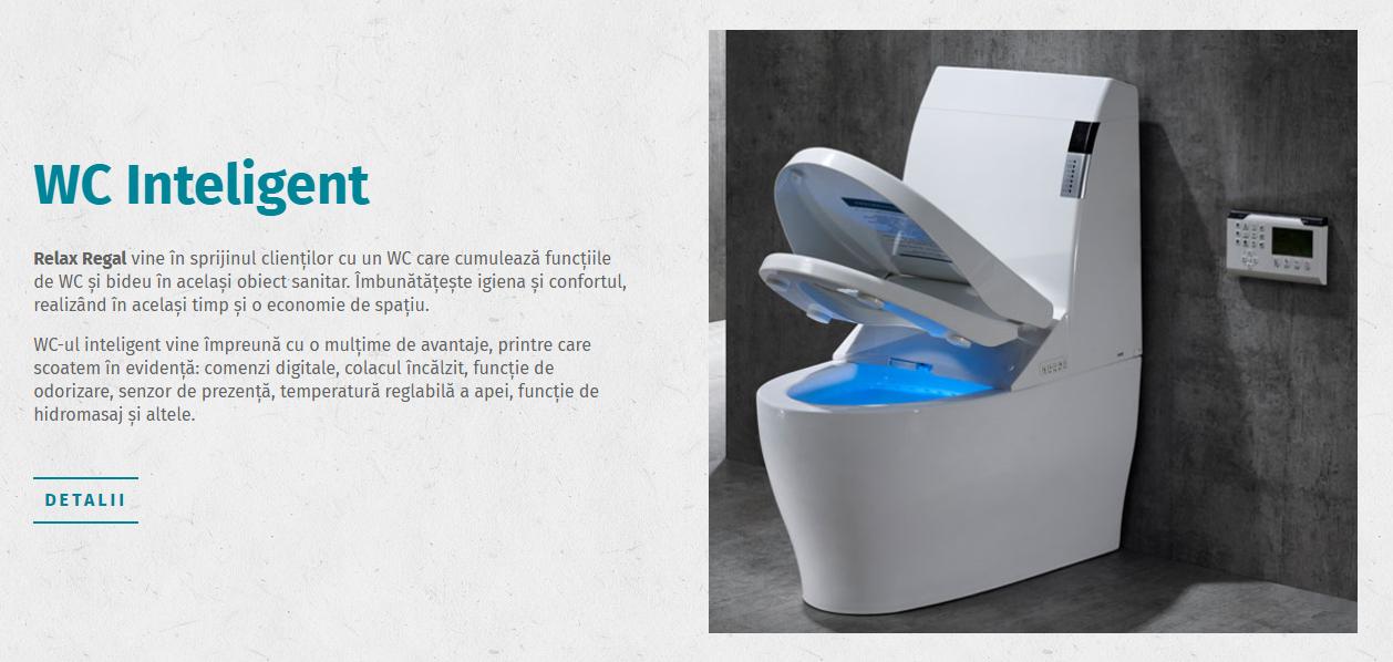 toaleta inteligenta WC 2 in 1 cu bideu