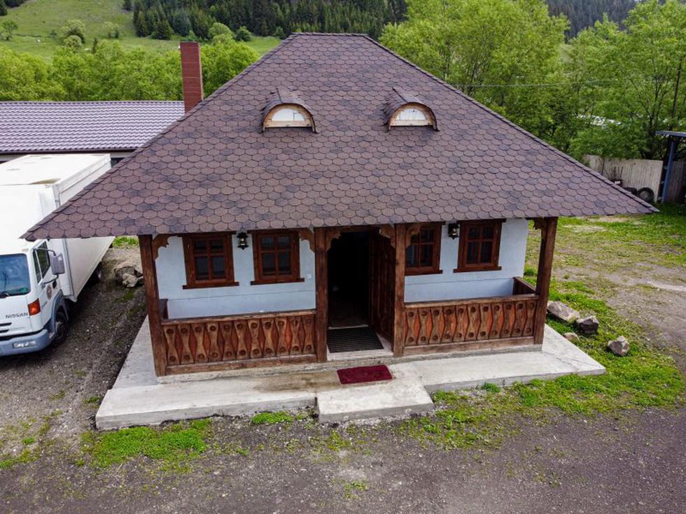 casa traditionala din lemn Suceava, Vatra Dornei