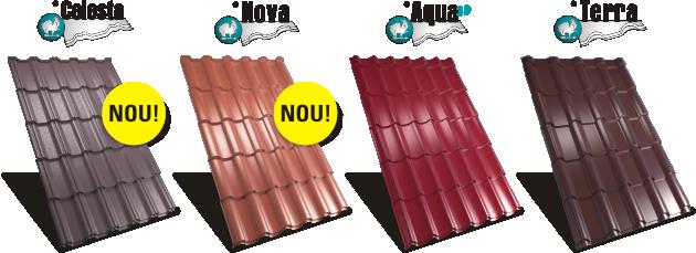 modele de tabla tip tigla metalica pentru acoperisuri