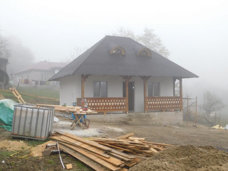 Casa traditionala din lemn Buzau