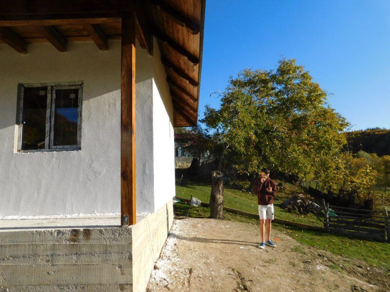 Casa din lemn traditionala Buzau
