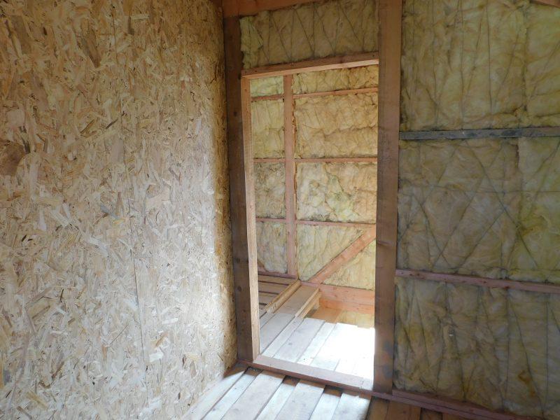 Casa pe structura din lemn Negreşti, judeţul Vaslui